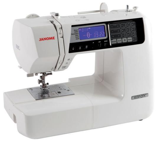 Máquina de Costura Doméstica, Eletrônica, Janome - 4120QDC