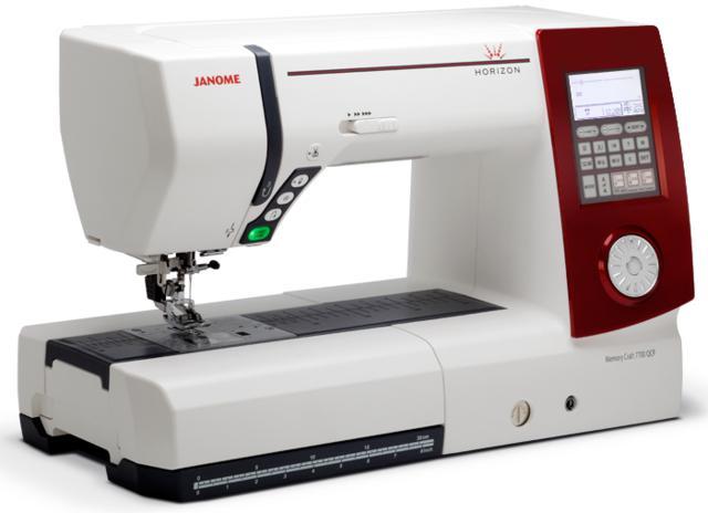 Máquina de Costura Doméstica, Eletrônica, Janome - 7700QCP