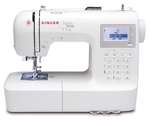 Máquina de Costura Doméstica 201 Pontos Singer SuperB 2010