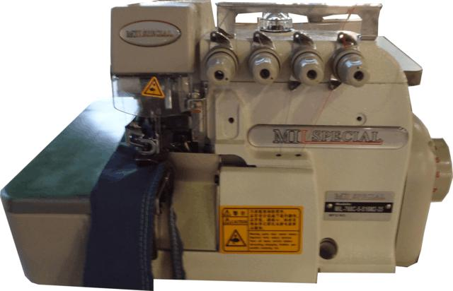 Overlock Industrial, 05 Fios, Bitola Larga, Mil Special