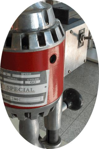 Máquina para Furar Tecido, Mil Special