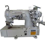 Máquina Galoneira (Colarete), Base Plana Fechada, Mil Special