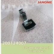Calcador Janome para Franzir Tecidos Leves - Mec.