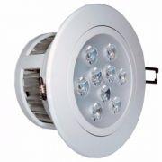 Spot Redondo LED 9W 6500K BF Bivolt