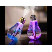 Umidificador Ambiente Ar Luz Led USB Luminária Lâmpada Difusor