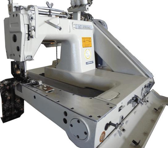 Máquina Fechadeira de Braço, 02 Agulhas, Mil Special