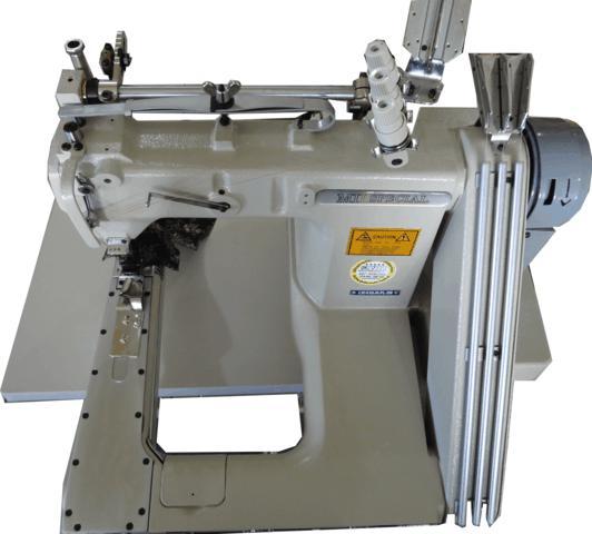 Máquina Fechadeira de Braço, 03 Agulhas com Catraca Dupla, Mil Special