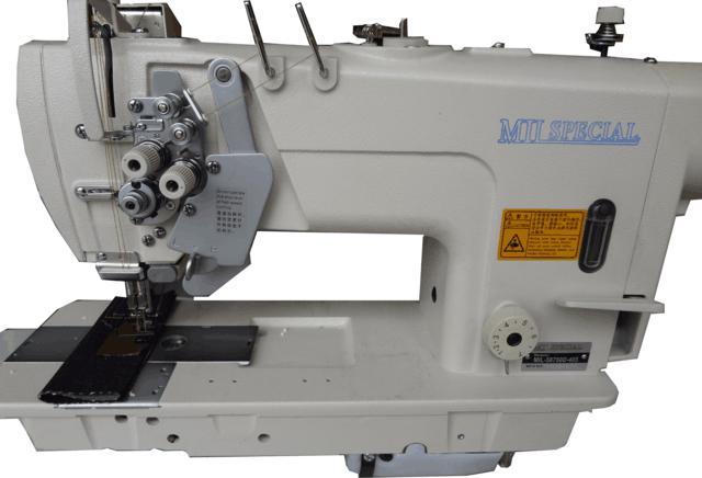 Máquina de 02 Agulhas, Eletrônica, Direct Drive, Barra Móvel, Lançadeira Grande, Mil Special