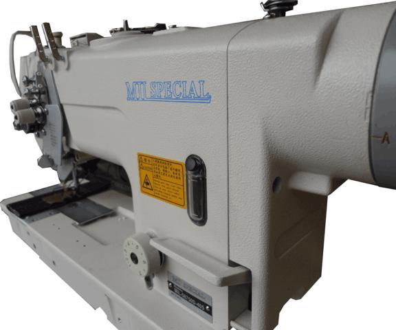Máquina de 02 Agulhas Eletrônica Direct Drive Barra Móvel Lançadeira Grande Mil Special