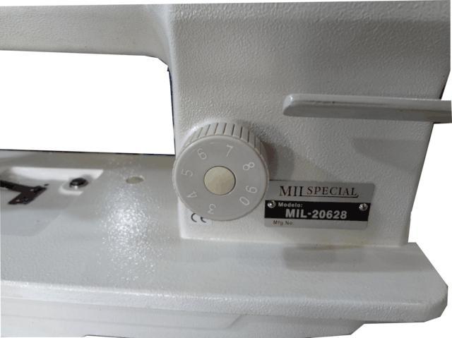 Máquina de Transporte Triplo, Plana, 02 Agulhas, Mil Special