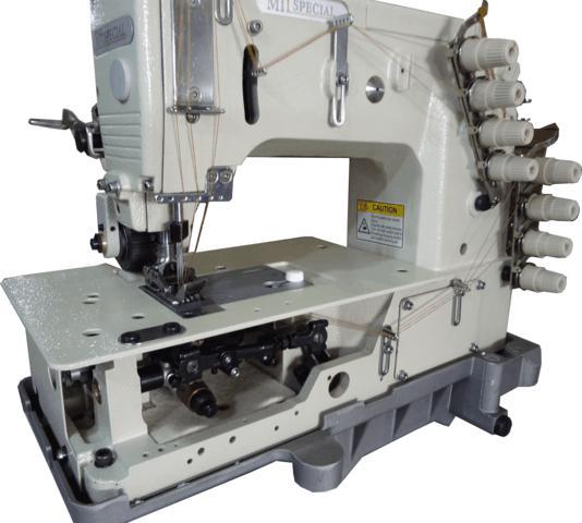 Máquina Fechadeira, Plana, 03 Agulhas com Catraca, PTF, Mil Special