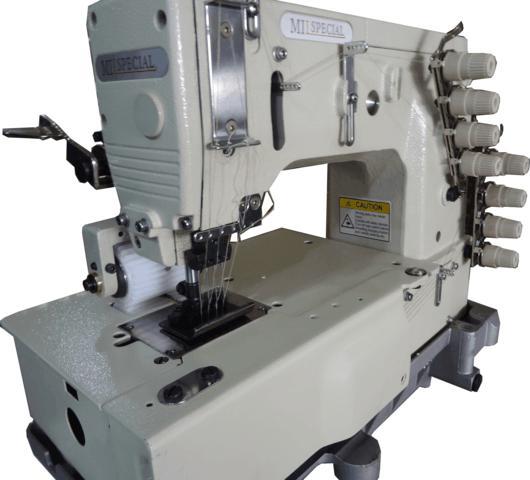 Máquina de 04 Agulhas, para Pregar Elástico, Mil Special