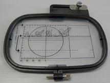 Bastidor Retangular para Máquina de Bordar MC8000, Janome