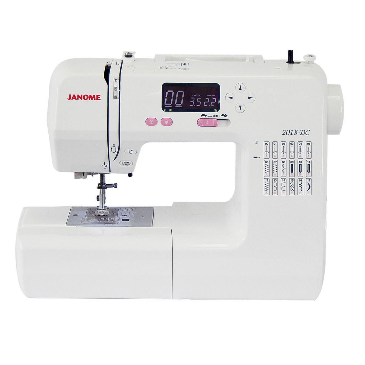 Máquina de  Costura Eletrônica Janome 2018DC