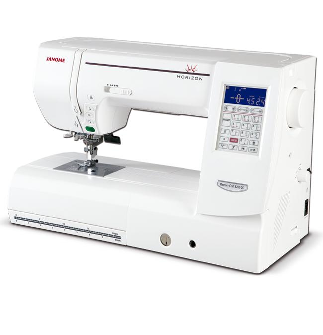 Máquina de Costura Eletônica Janome 8200QCP