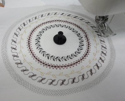 Calcador Janome para Costura Circular