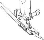 Calcador Janome para Bainha Enrolada - Máquinas Mecânicas