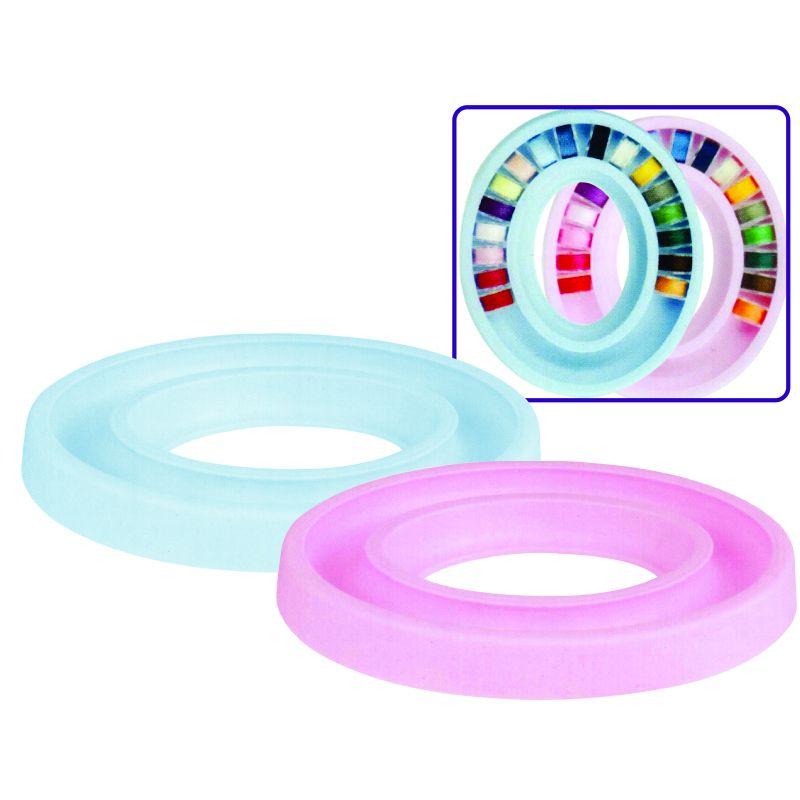 Porta Bobinas Circular  de Plástico