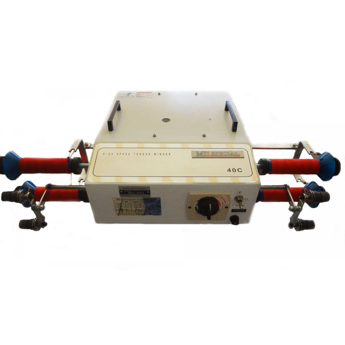 Máquina Conicaleira (Rebobinadeira) para 04 Cones