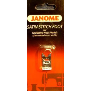 """Calcador Janome """"F"""" para Pontos Decorativos e Apliques (Máquinas Convencionais)"""