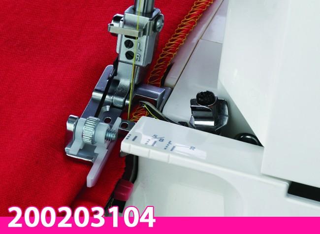 Calcador para Bainha Invisível para Overlock 8002D Janome