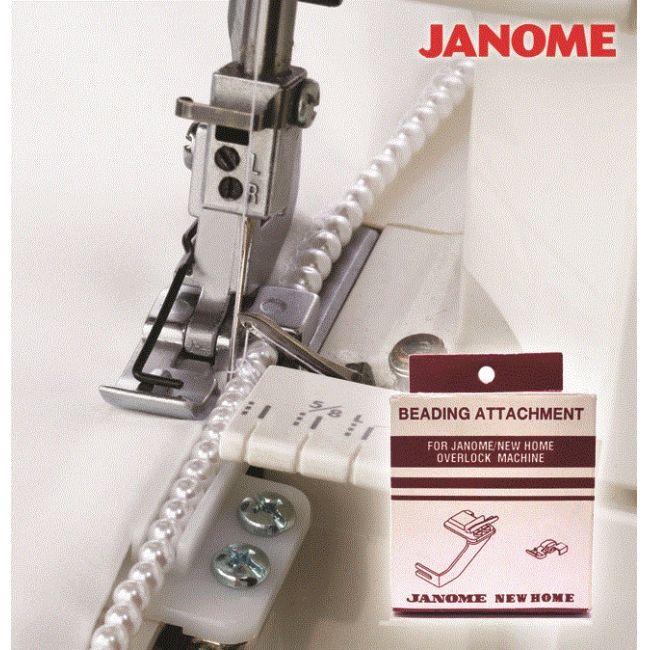 Calcador para Aplicação de Miçanga para Overlock Janome