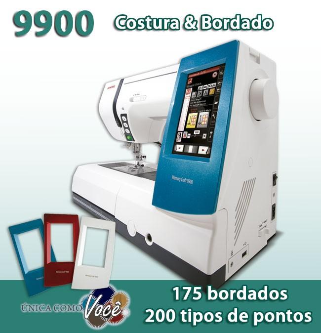 Máquina de Costura e Bordado 9900 da Janome