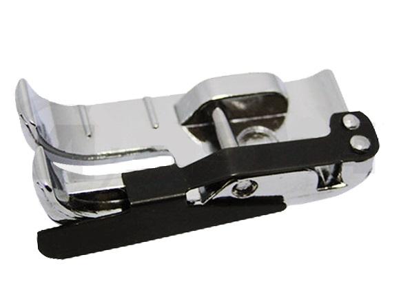 Calcador Sapata de 1/4 com Guia p/ Máquina Doméstica