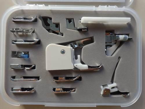 Kit com 15 Calcadores para Máquina Doméstica
