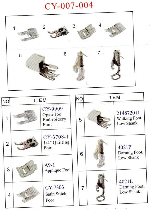 Kit de Calcadores para Quilt Livre