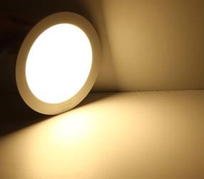 Plafon Led de Sobrepor 6w Redondo Branco Quente