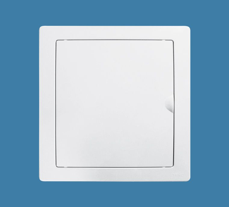 Quadro de Distribuição de Embutir para 12 Disjuntores NEMA ou 16 DIN - Porta Branca Reversível
