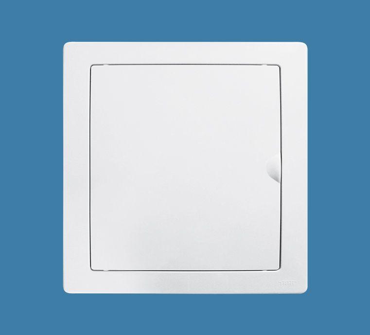 Quadro de Distribuição de Embutir para 3 Disjuntores NEMA ou 4 DIN - Porta Branca Reversível