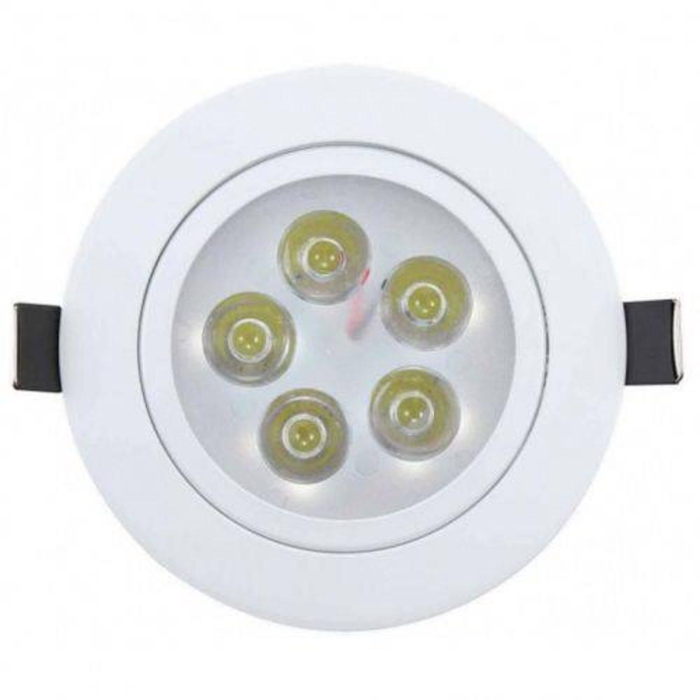 Spot Redondo LED 5W 3000K BM Bivolt