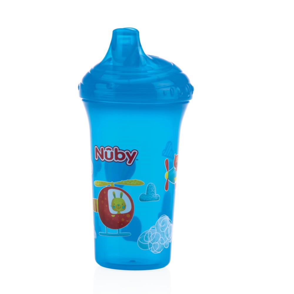Copo Antivazamento Estampado 270ml Nûby