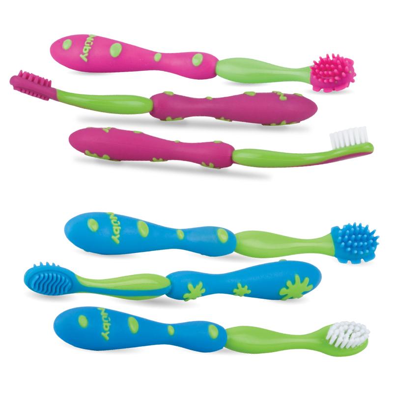 Kit de Cuidados Oral Sistema 3 Estágios Escova de Dentes
