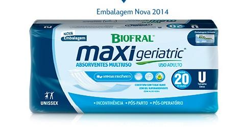 ABSORVENTE GERIATRICO BIOFRAL MAXI GERIATRIC C/20  - Ruth Fraldas