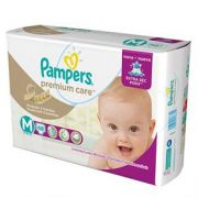 FRALDA PAMPERS PREMIUM CARE M C/48