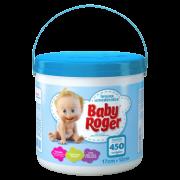 LENÇOS UMEDECIDOS BABY ROGER BALDE 450 UN.AZUL