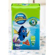 FRALDA HUGGIES LITTLE SWIMMERS P C/12