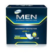 ABSORVENTE MASC.TENA MEN LEVEL 2 C/10 UND