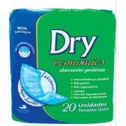 ABSORVENTE GERIATRICO DRY ECONOMICS C/20
