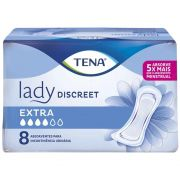 ABSORVENTE GERIATRICO TENA LADY DISCREET EXTRA C/8