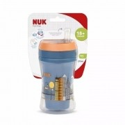 COPO FUN C/CANUDO BOY NUK 18+ MESES 270ML