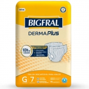 FRALDA GERIATRICA BIGFRAL DERMA PLUS G C/7
