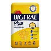 FRALDA GERIATRICA BIGFRAL PLUS G C/8