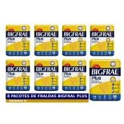 FRALDA GERIATRICA BIGFRAL PLUS M 8 PCT. C/9 CXF