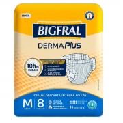 FRALDA GERIATRICA BIGFRAL PLUS M C/8