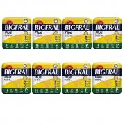 FRALDA GERIATRICA BIGFRAL PLUS P 8 PCT.C/10 CXF