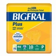 FRALDA GERIATRICA BIGFRAL PLUS P C/10